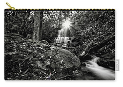 Elora Falls In Black And White Carry-all Pouch