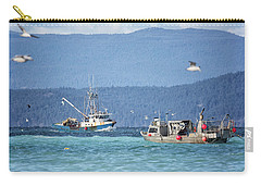 Carry-all Pouch featuring the photograph Elora Jane by Randy Hall