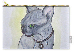 Else The Sphynx Kitten Carry-all Pouch
