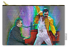 Elton And Freddie Carry-all Pouch