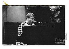 Elton John-0147 Carry-all Pouch by Gary Gingrich Galleries