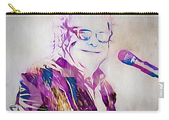 Elton John Carry-all Pouch by Dan Sproul