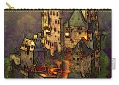 Eltz Castle Carry-all Pouch by Michael Cleere