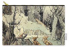 Elves In A Wood Carry-all Pouch