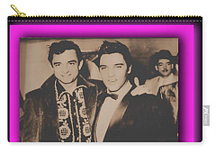 Elvis And Johnny Carry-all Pouch