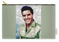 Elvis Presley By Mary Bassett Carry-all Pouch