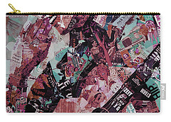 Elvis Presley Collage Art 01 Carry-all Pouch by Gull G