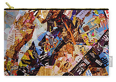 Elvis Presley Collage Art  Carry-all Pouch by Gull G