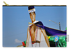 Elvis Presley Goes To Mardi Gras Carry-all Pouch