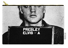 Elvis Presley Mug Shot Vertical 1 Wide 16 By 20 Carry-all Pouch