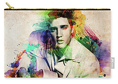 Elvis Presley With Guitar Carry-all Pouch