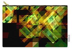 Carry-all Pouch featuring the digital art Embodiment 6 by Lynda Lehmann