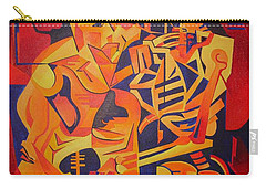 Embracing Death Carry-all Pouch by Tracey Harrington-Simpson