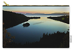 Emerald Bay, Lake Tahoe, Dawn Carry-all Pouch