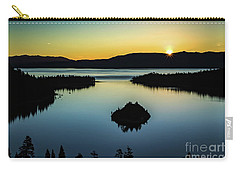Emerald Bay Summer Solstice Carry-all Pouch by Mitch Shindelbower