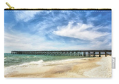 Carry-all Pouch featuring the photograph Emerald Coast Dreams by Mel Steinhauer