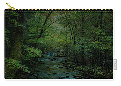 Emerald Creek Carry-all Pouch by Lena Auxier