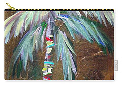 Emerald Fire Palm  Carry-all Pouch by Kristen Abrahamson