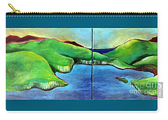 Emerald Isles Carry-all Pouch by Elizabeth Fontaine-Barr