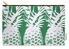 Emerald Pineapples- Art By Linda Woods Carry-all Pouch