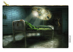 Carry-all Pouch featuring the digital art Emergency Nature  by Nathan Wright