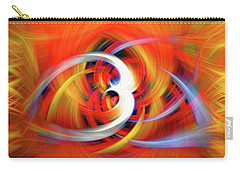 Emerging Light From A Colorful Vortex Carry-all Pouch