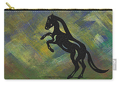 Emma - Abstract Horse Carry-all Pouch