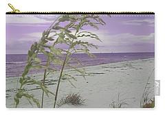 Emma Kate's Purple Beach Carry-all Pouch by Rachel Hannah