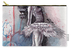Emotional Ballet Dance Carry-all Pouch by Alban Dizdari