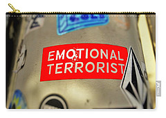 Emotional Terrorist In New York  Carry-all Pouch