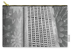 Carry-all Pouch featuring the photograph Empire State Building by Angie Tirado