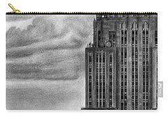 Empire State Building New York Pencil Drawing Carry-all Pouch