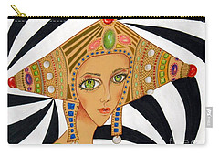 Empress Exotica -- Whimsical Exotic Woman Carry-all Pouch