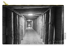 Carry-all Pouch featuring the photograph Empty Corridor by Juli Scalzi