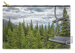 Carry-all Pouch featuring the photograph Empty Gondola by Patricia Hofmeester