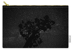 Carry-all Pouch featuring the photograph Empty Night Tree by T Brian Jones