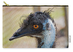 Emu Carry-all Pouch by Kenneth Albin