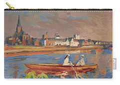 En Bateau De Renoir Sur La Meuse A Maestricht Carry-all Pouch