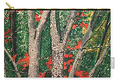 Enchanted Birches Carry-all Pouch