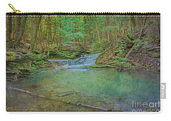 Carry-all Pouch featuring the digital art Enchanted Forest Two by Randy Steele