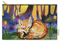Enchanted Fox Carry-all Pouch