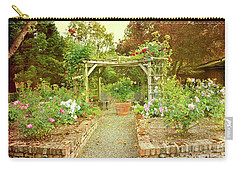 Enchanted Garden At Galiano Inn Carry-all Pouch