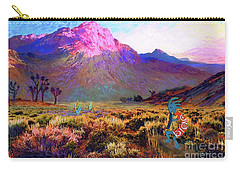 Enchanted Kokopelli Dawn Carry-all Pouch
