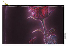 Carry-all Pouch featuring the drawing Enchanted by Meagan  Visser