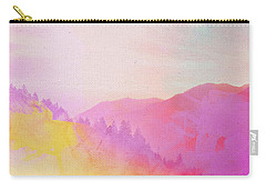 Carry-all Pouch featuring the digital art Enchanted Scenery #2 by Klara Acel