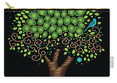 Enchanted Tree Carry-all Pouch by Serena King