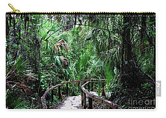 Carry-all Pouch featuring the photograph Enchanted Walk by Gary Wonning