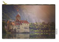 Enchanting Chateau De Chillon Montreux Switzerland  Carry-all Pouch