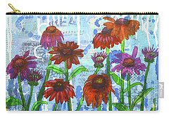 Enchanting Echinacea Carry-all Pouch
