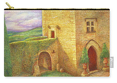 Enchanting Fairytale Chateau Landscape Carry-all Pouch
